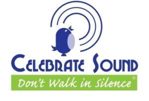 Celebrate Sound - Don't walk in silence logo