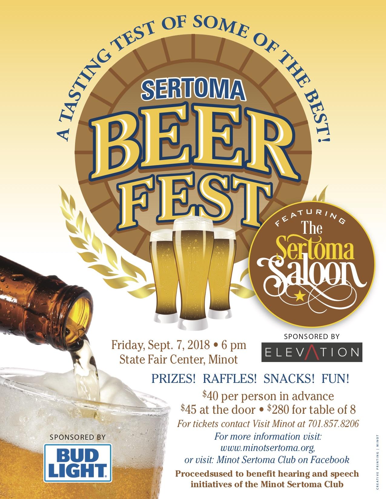 2018 Beer Fest Poster